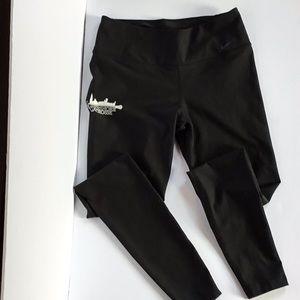 Nike leggings w/Lakeshore Lacrosse logo